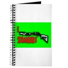 I shotgun zombies! Journal