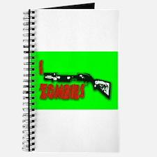 I shotgun zombies! Journal