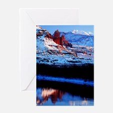 Fisher Towers Greeting Card