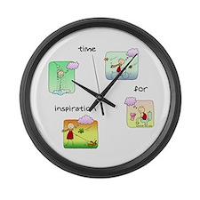 Nano day Large Wall Clock
