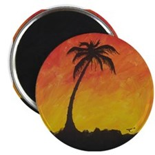 """Lonely Palm 2.25"""" Magnet (10 pack)"""