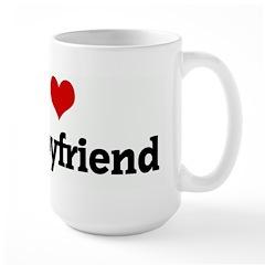 I Love my boyfriend Mug