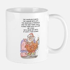 santa's sorry flight Small Small Mug