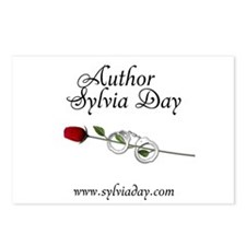 Author Sylvia Day Postcards (Package of 8)