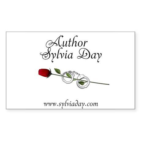 Author Sylvia Day Rectangle Sticker