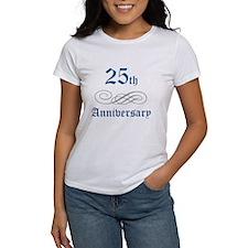 Elegant 25th Anniversary Tee