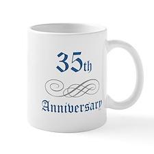 Elegant 35th Anniversary Mug