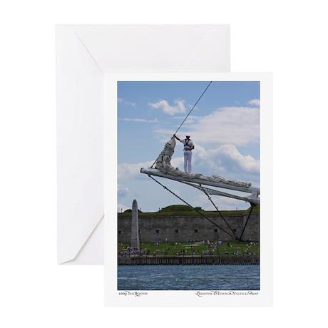 Tall Ship Greeting Card