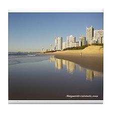 Gold Coast Tile Coaster