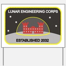 Lunar Engineering Yard Sign