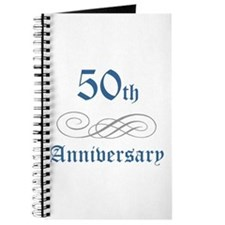 Elegant 50th Anniversary Journal