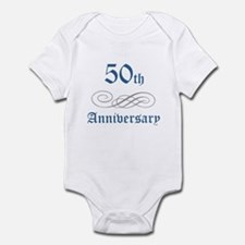 Elegant 50th Anniversary Infant Bodysuit