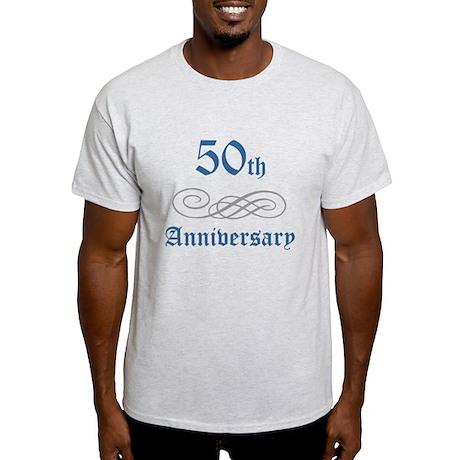 Elegant 50th Anniversary Light T-Shirt