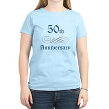 Elegant 50th Anniversary T-Shirt