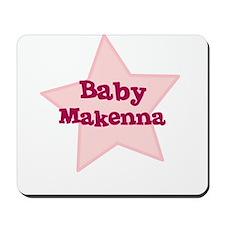 Baby Makenna Mousepad