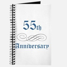 Elegant 55th Anniversary Journal