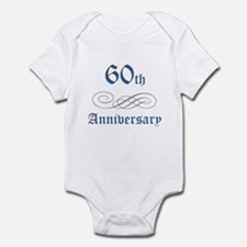 Elegant 60th Anniversary Infant Bodysuit