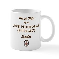 USS Nicholas Wife Mug