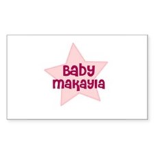 Baby Makayla Rectangle Decal