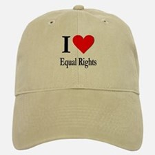 I Love Equal Rights Baseball Baseball Cap