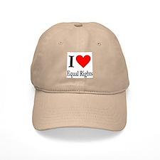 I Love Equal Rights Baseball Cap