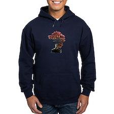 Red Leaf Bonsai Hoodie