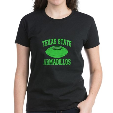 Texas State Armadillos Women's Dark T-Shirt