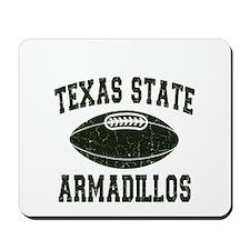 Texas State Armadillos Mousepad