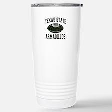 Texas State Armadillos Travel Mug