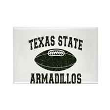 Texas State Armadillos Rectangle Magnet