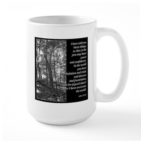 John 16:33 Large Mug