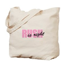 Rush Is Right Tote Bag