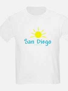 San Diego Sun - Kids T-Shirt