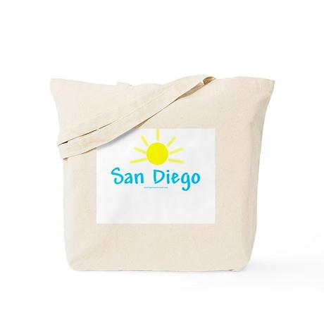 San Diego Sun - Tote Bag
