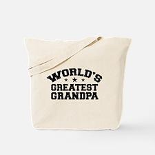 World's Greatest Grandpa Tote Bag