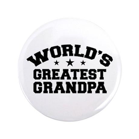 """World's Greatest Grandpa 3.5"""" Button"""