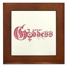 Goddess Framed Tile