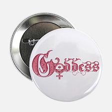 """Goddess 2.25"""" Button"""