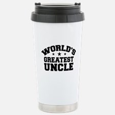 World's Greatest Uncle Travel Mug