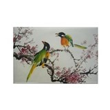 Chinese birds and flowers Single