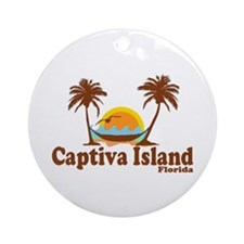 Captiva Island FL Ornament (Round)