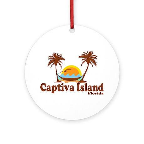 Captiva Island FL Ornament (Round)