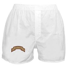 24th Infantry LRS Desert Boxer Shorts