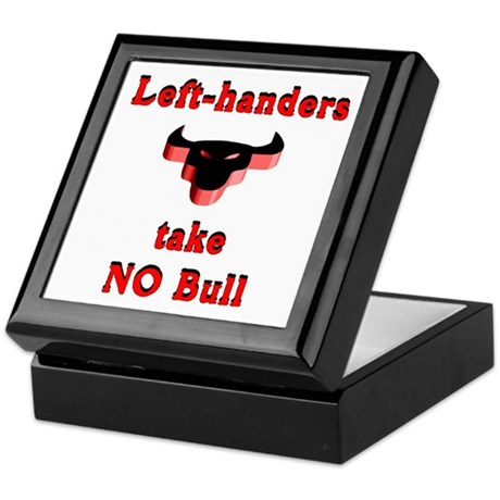 NO Bull Keepsake Box