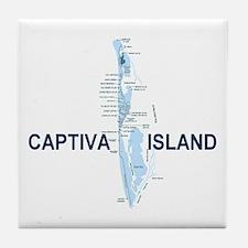 Captiva Island FL Tile Coaster