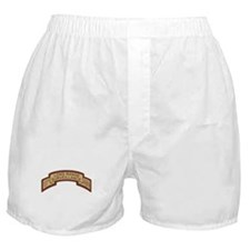 101st Airborne LRS Scroll, Ds Boxer Shorts