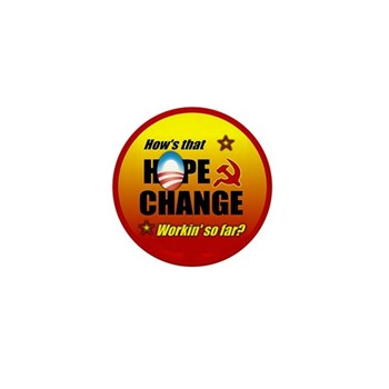 Hope & Change Mini Button (10 pack)