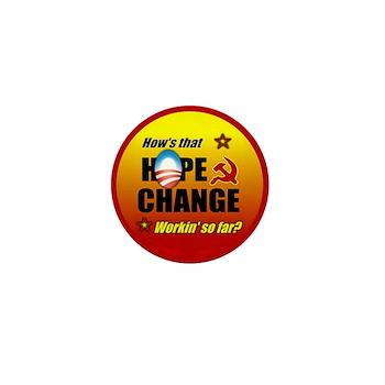 Hope & Change Mini Button