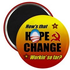 Hope & Change Magnet