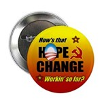 "Hope & Change 2.25"" Button"